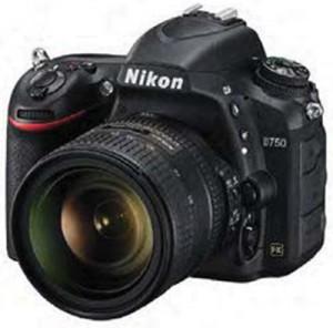 Nikon D750 angle