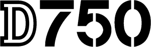 Nikon D750 Logo