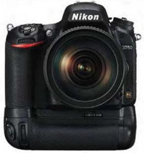 Nikon D750 with MB-D16 battery grip
