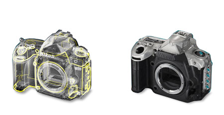 Nikon D750 weather sealing and composite front body